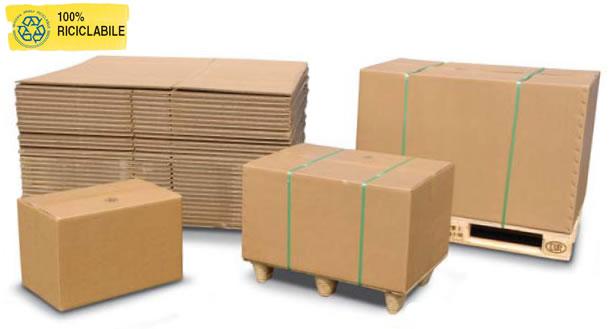 3407ac9f34 L'utilizzo combinato di scatole in cartone ad alta resistenza e pallet  normalizzati, consente di ottenere un sistema di spedizione completo,  sicuro, ...